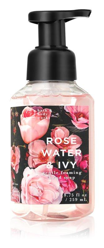 Bath & Body Works Rose Water & Ivy pěnové mýdlo na ruce