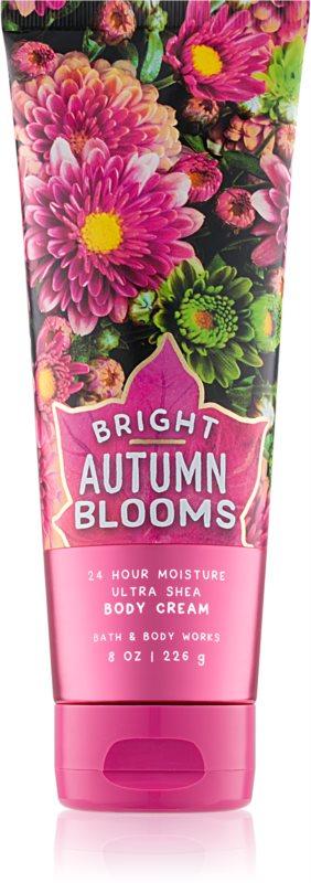 Bath & Body Works Bright Autumn Blooms Bodycrème voor Vrouwen  226 gr