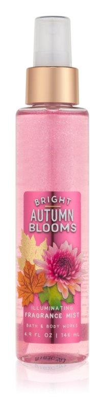 Bath & Body Works Bright Autumn Blooms Bodyspray  voor Vrouwen  146 ml Glimmend