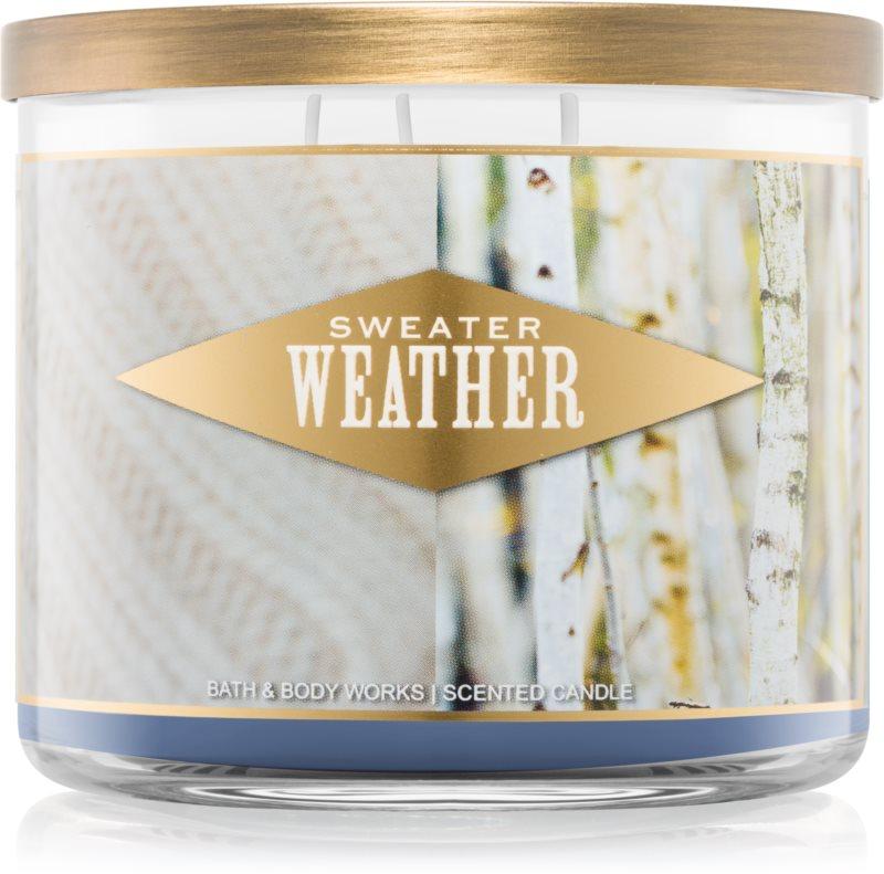 Bath & Body Works Sweater Weather vonná svíčka 411 g I.
