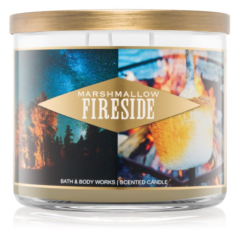 Bath & Body Works Marshmallow Fireside bougie parfumée 411 g I.
