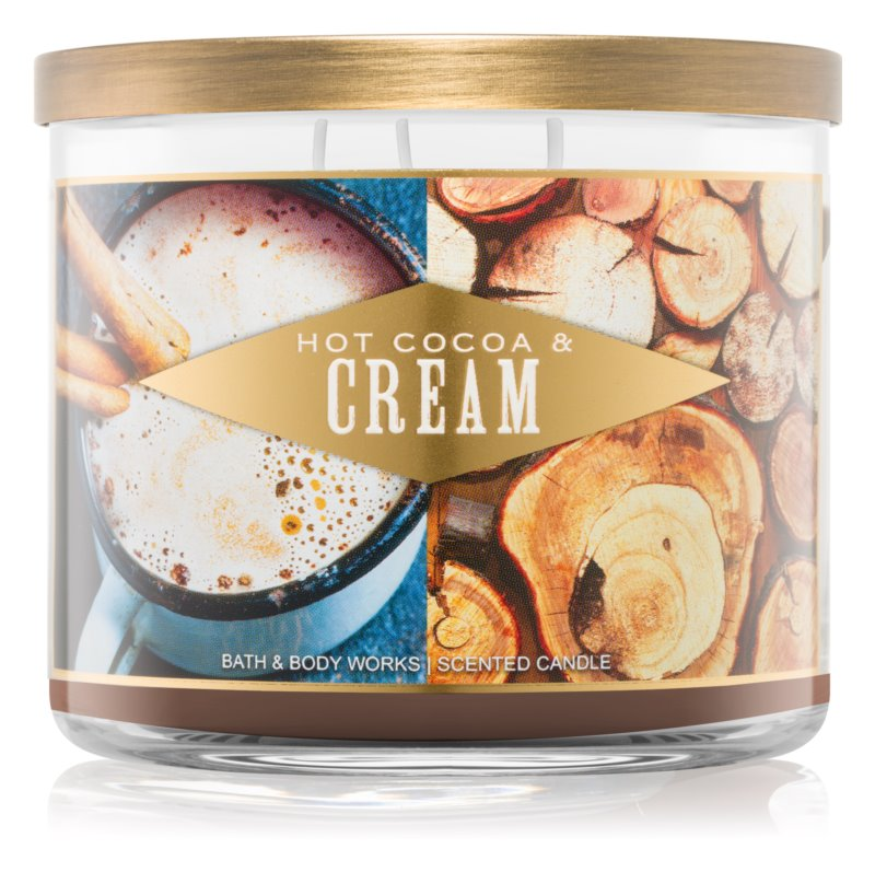 Bath & Body Works Hot Cocoa & Cream lumânare parfumată  411 g I.