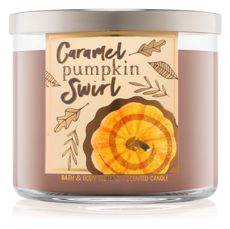 Bath & Body Works Caramel Pumpkin Swirl Scented Candle 411 g I.