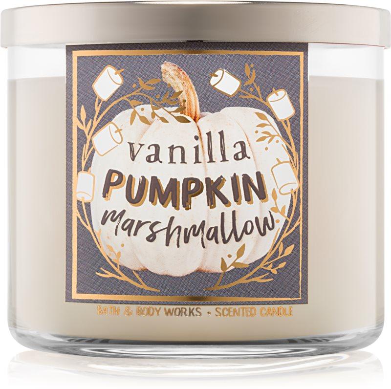 Bath & Body Works Vanilla Pumpkin Marshmallow Geurkaars 411 gr I.