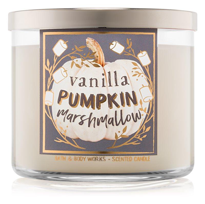 Bath & Body Works Vanilla Pumpkin Marshmallow vonná sviečka 411 g I.