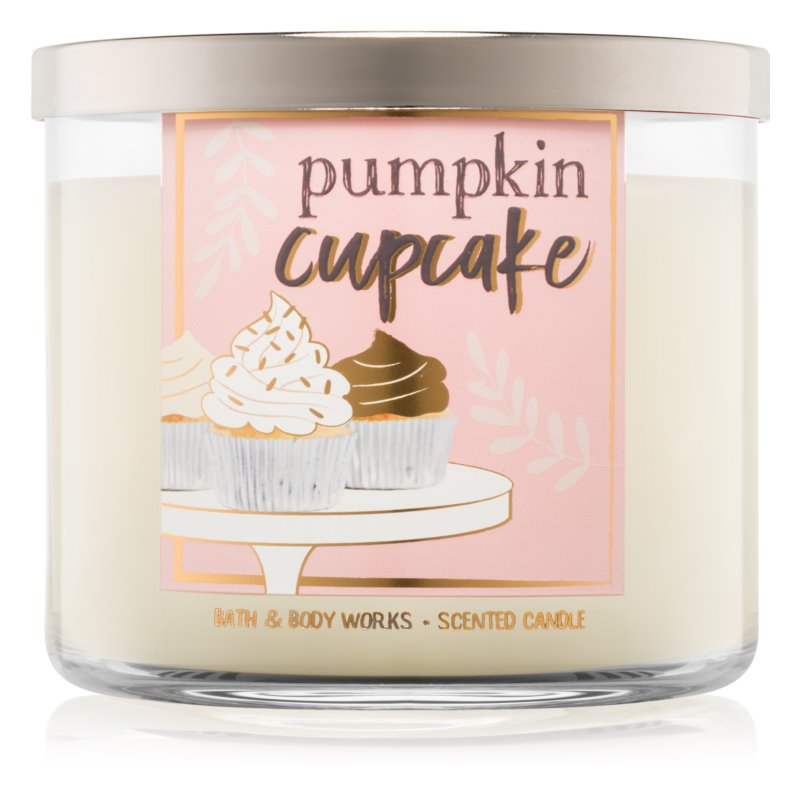 Bath & Body Works Pumpkin Cupcake vonná sviečka 411 g