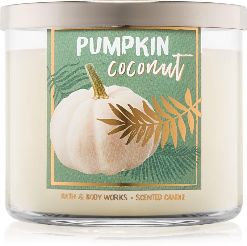 Bath & Body Works Pumpkin Coconut vonná svíčka 411 g