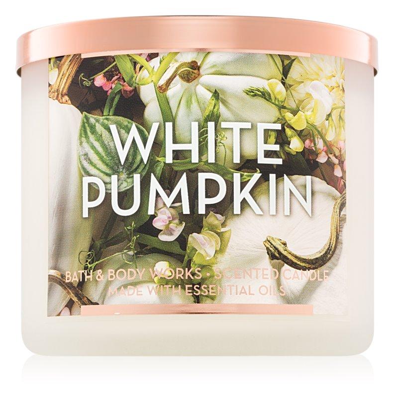 Bath & Body Works White Pumpkin ароматизована свічка  411 гр