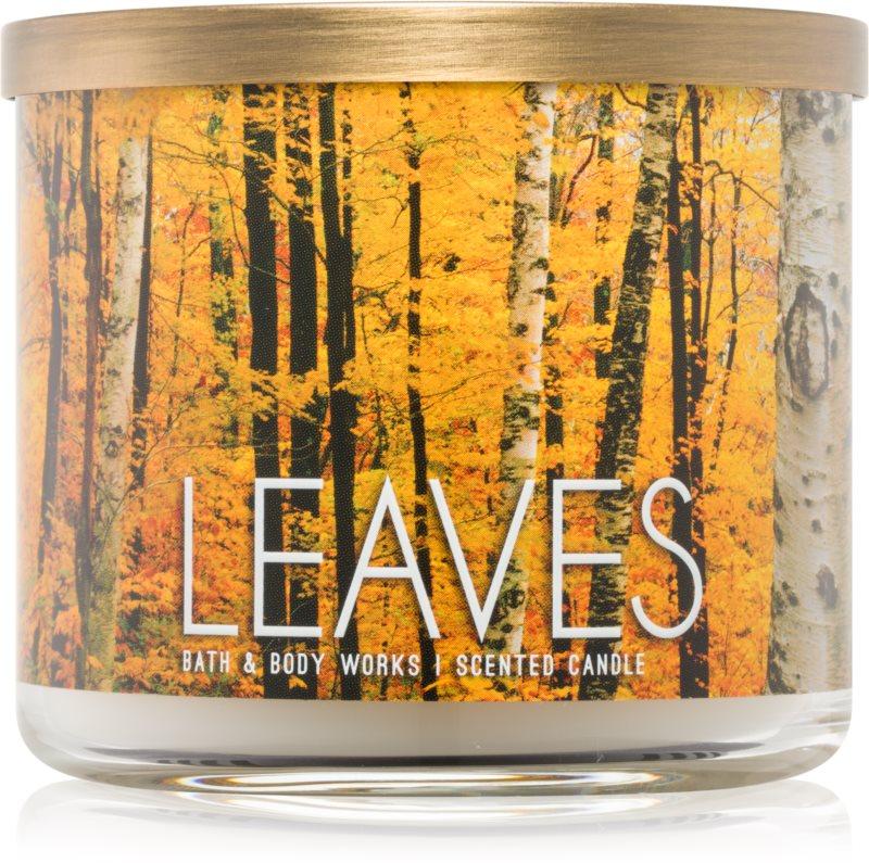 Bath & Body Works Leaves ароматизована свічка  411 гр