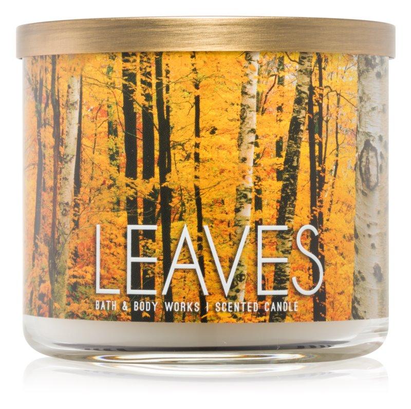 Bath & Body Works Leaves bougie parfumée 411 g