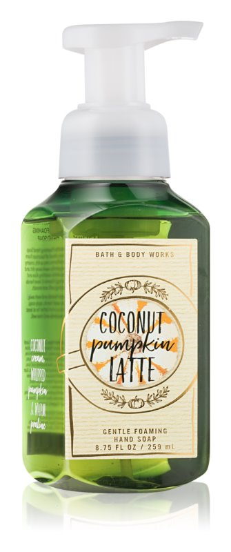 Bath & Body Works Coconut Pumpkin Latte Foaming Hand Soap