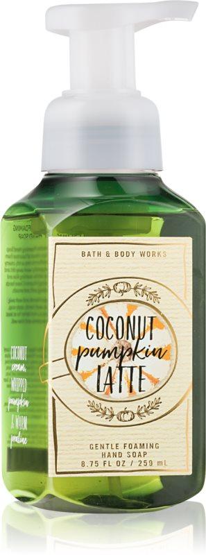 Bath & Body Works Coconut Pumpkin Latte Schaumseife zur Handpflege