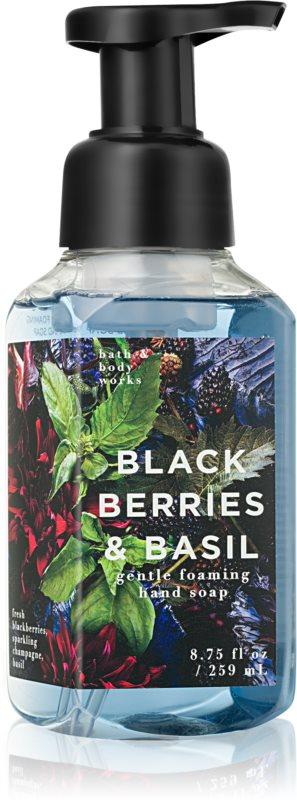 Bath & Body Works Black Berries & Basil pěnové mýdlo na ruce