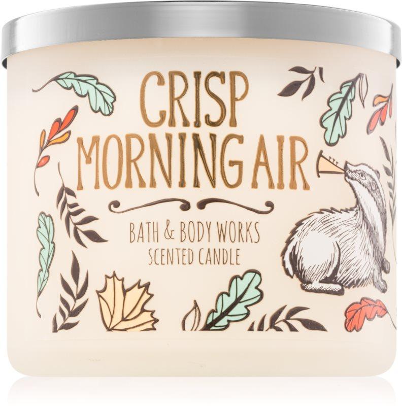 Bath & Body Works Crisp Morning Air dišeča sveča  411 g