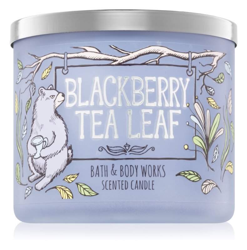 Bath & Body Works Blackberry Tea Leaf Geurkaars 411 gr