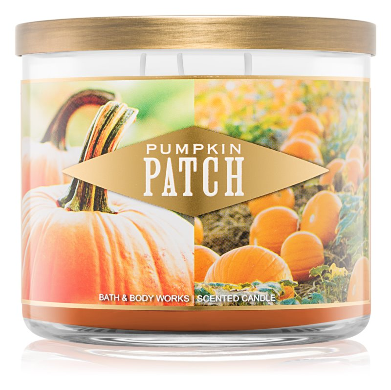 Bath & Body Works Pumpkin Patch vonná sviečka 411 g