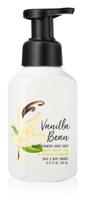 Bath & Body Works Vanilla Bean hab szappan kézre