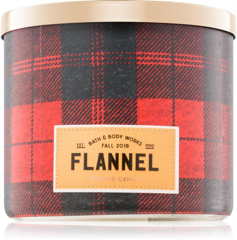 Bath & Body Works Flannel vonná sviečka 411 g I.