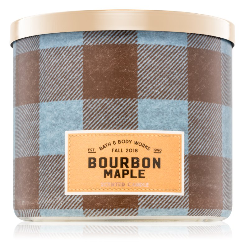 Bath & Body Works Bourbon Maple vonná svíčka 411 g I.