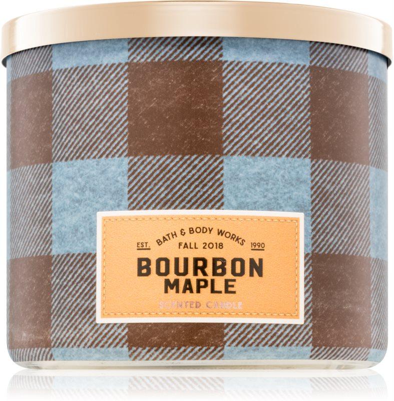 Bath & Body Works Bourbon Maple vonná sviečka 411 g I.