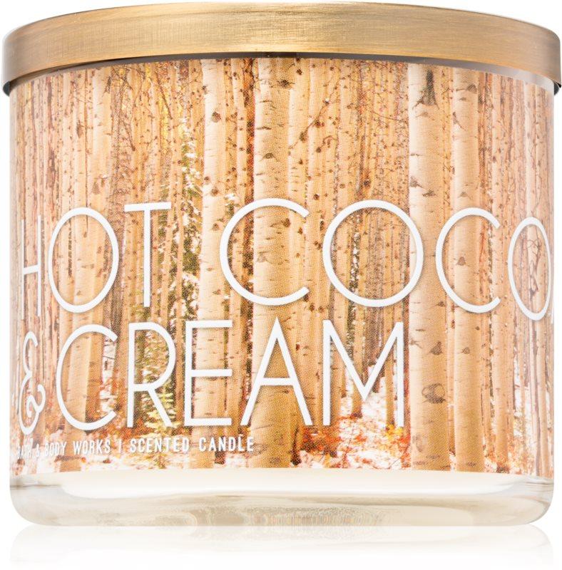 Bath & Body Works Hot Cocoa & Cream bougie parfumée 411 g III.