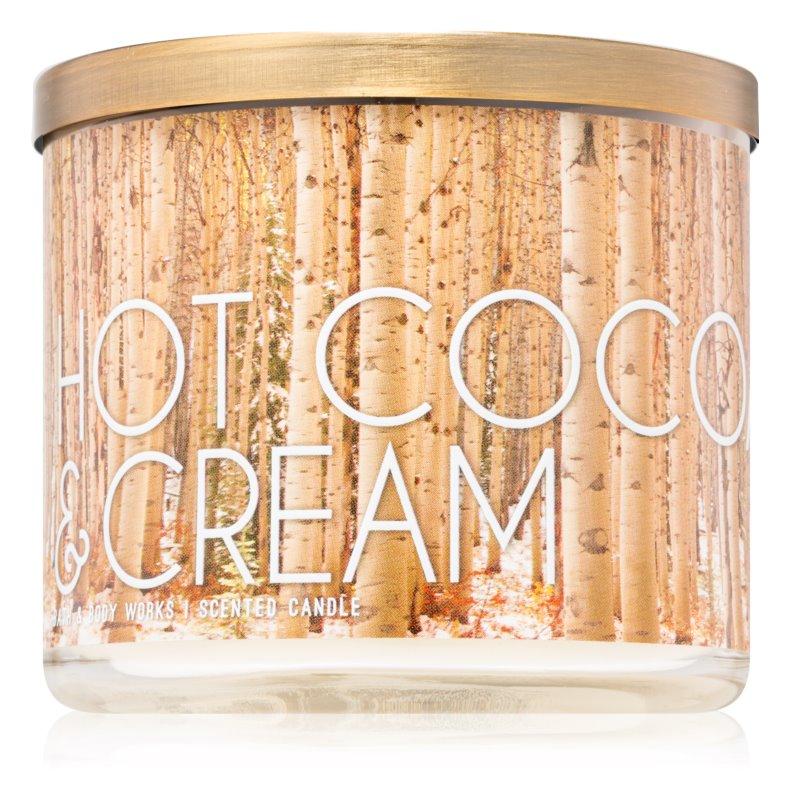 Bath & Body Works Hot Cocoa & Cream dišeča sveča  411 g III.