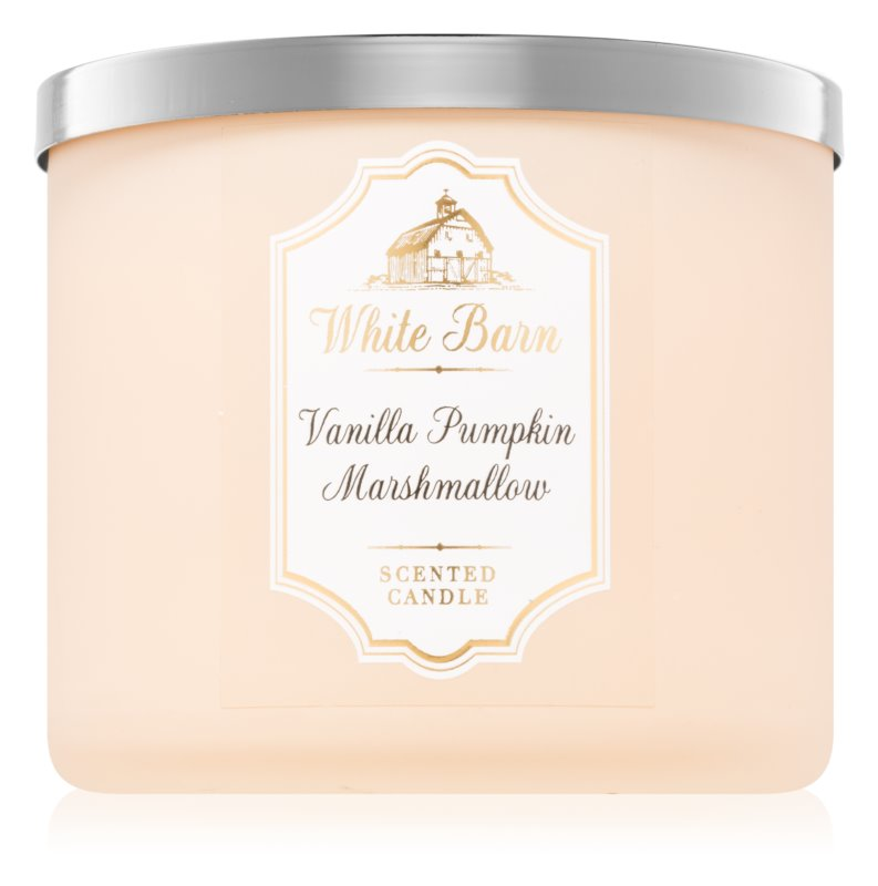 Bath & Body Works Vanilla Pumpkin Marshmallow bougie parfumée 411 g