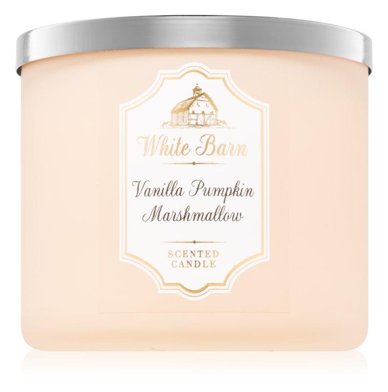 Bath & Body Works Vanilla Pumpkin Marshmallow vonná sviečka 411 g