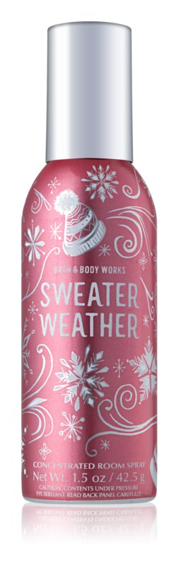 Bath & Body Works Sweater Weather bytový sprej 42,5 g