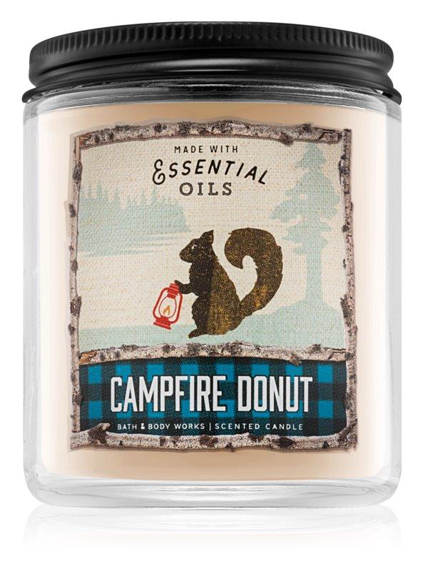 Bath & Body Works Campfire Donut illatos gyertya  198 g I.