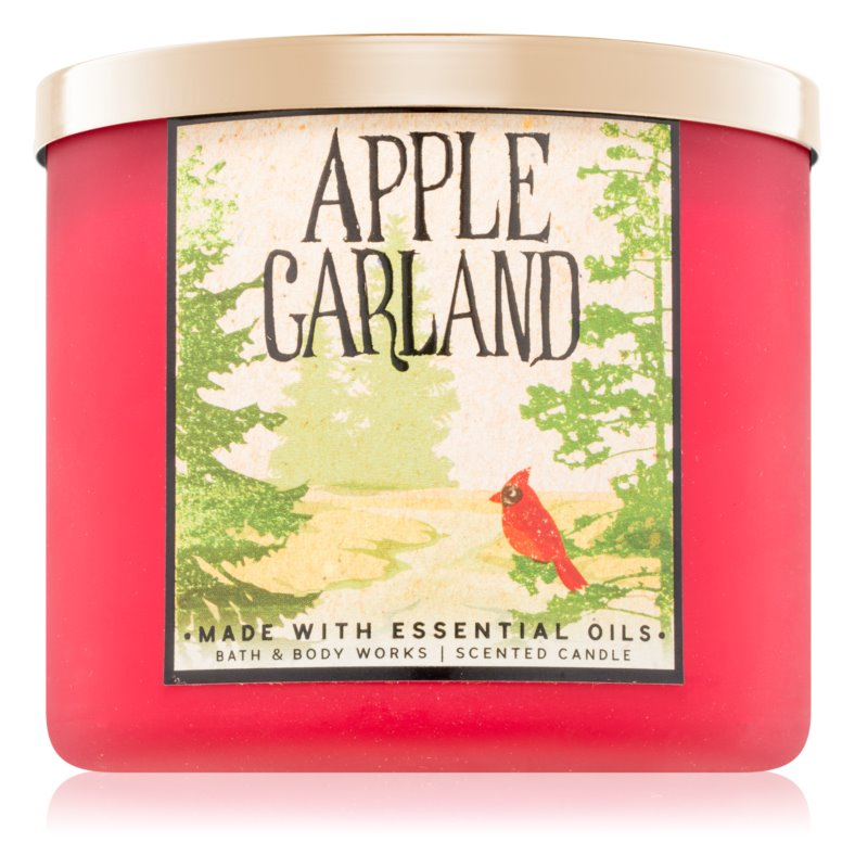 Bath & Body Works Apple Garland dišeča sveča  411 g