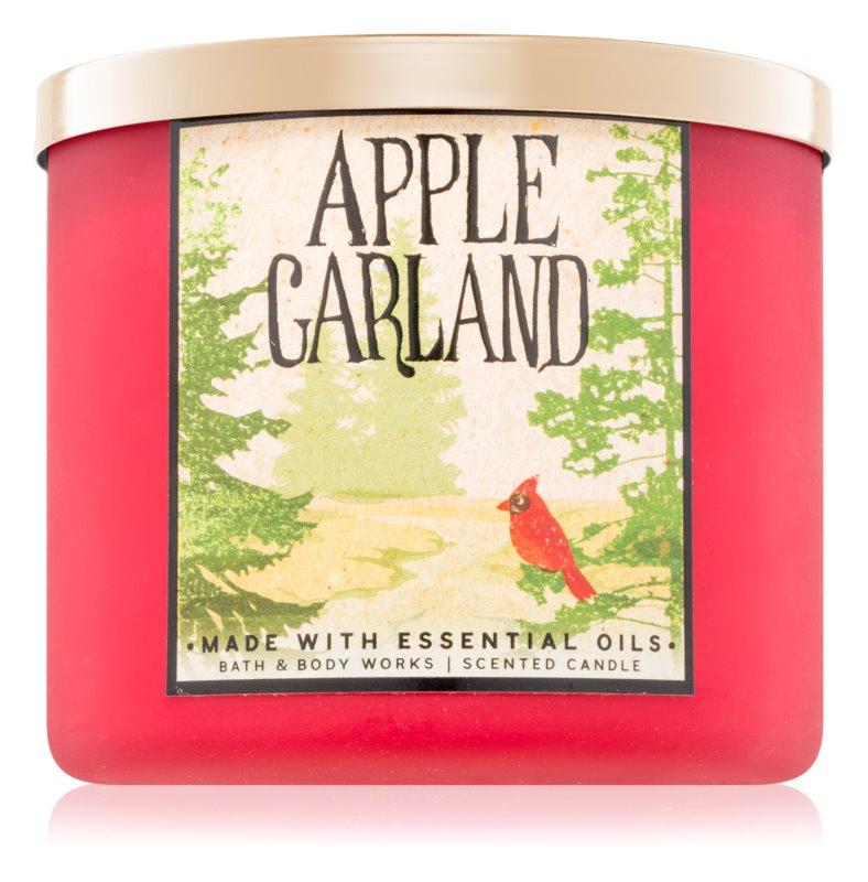Bath & Body Works Apple Garland vonná sviečka 411 g