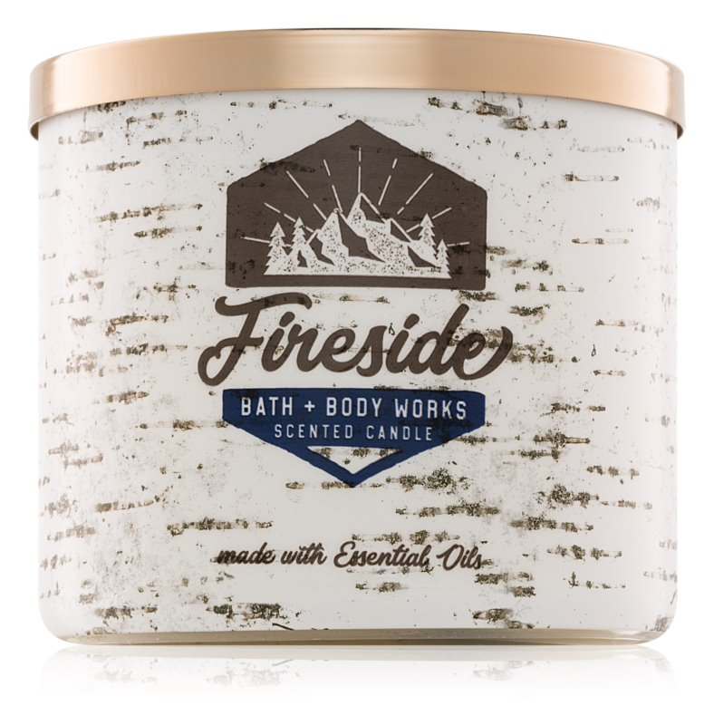 Bath & Body Works Fireside Scented Candle 411 g