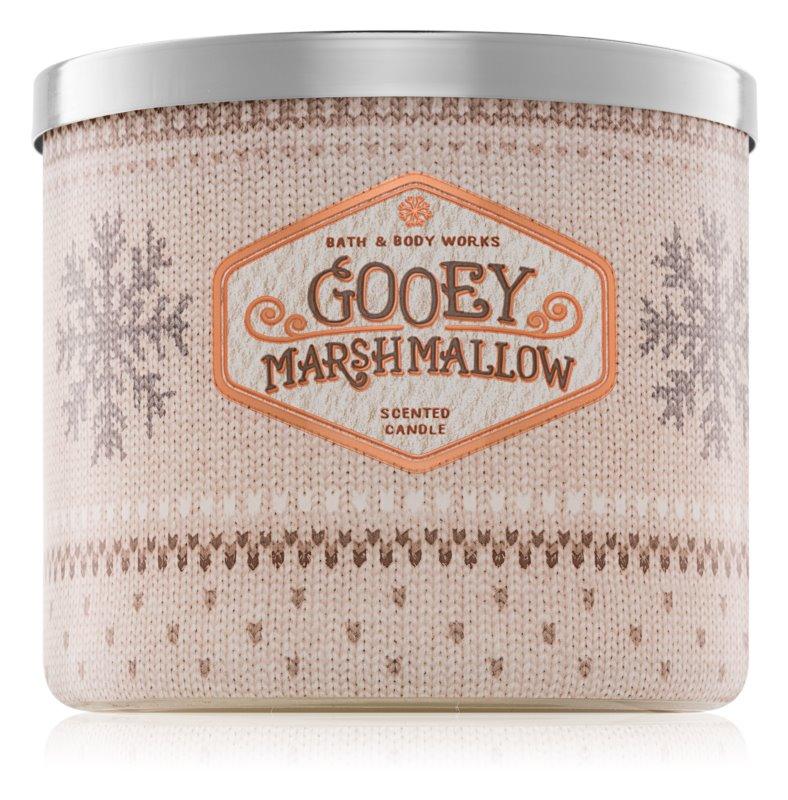 Bath & Body Works Gooey Marshmallow ароматизована свічка  411 гр