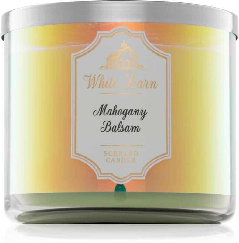 Bath & Body Works Mahogany Balsam vonná svíčka 411 g I.