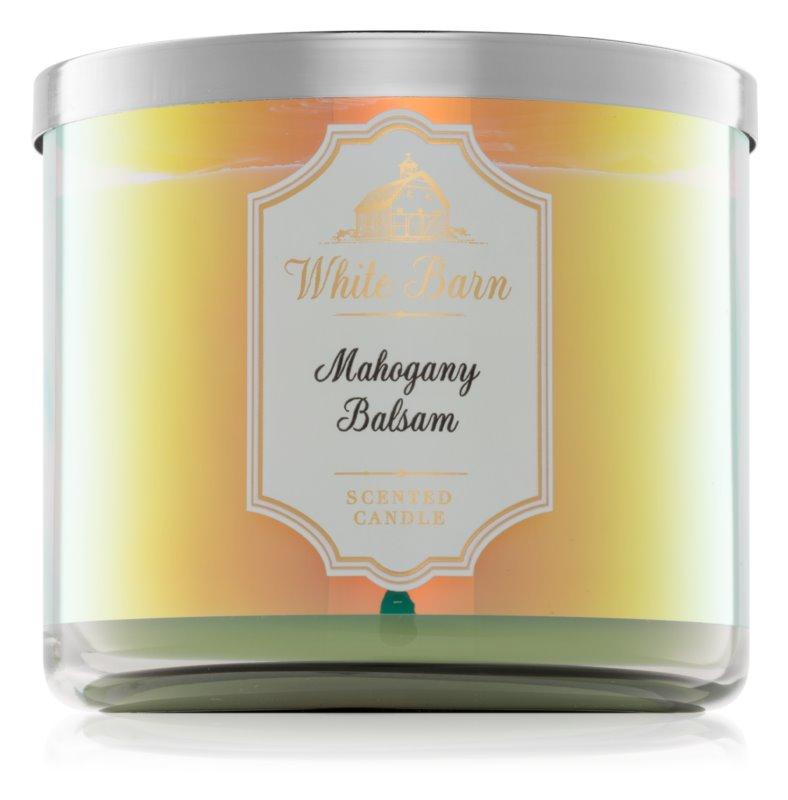 Bath & Body Works Mahogany Balsam vonná sviečka 411 g I.