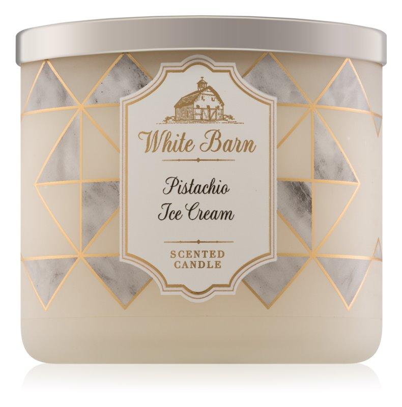 Bath & Body Works Pistachio Ice Cream bougie parfumée 411 g