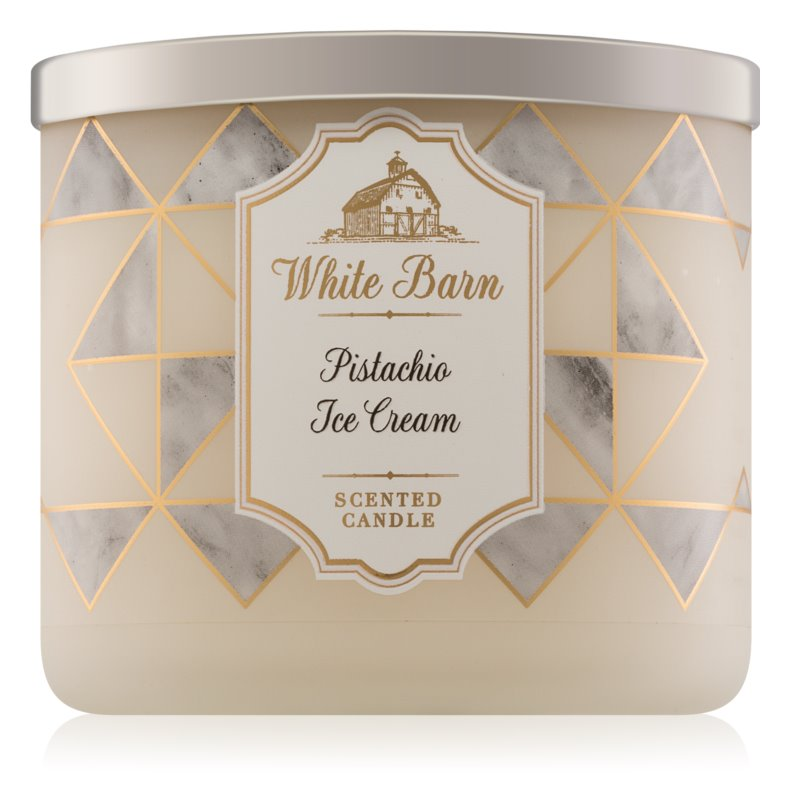 Bath & Body Works Pistachio Ice Cream vonná sviečka 411 g