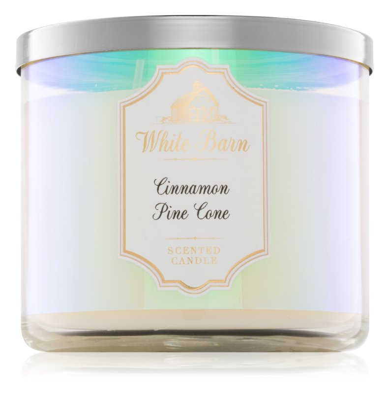 Bath & Body Works Cinnamon Pine Cone Geurkaars 411 gr