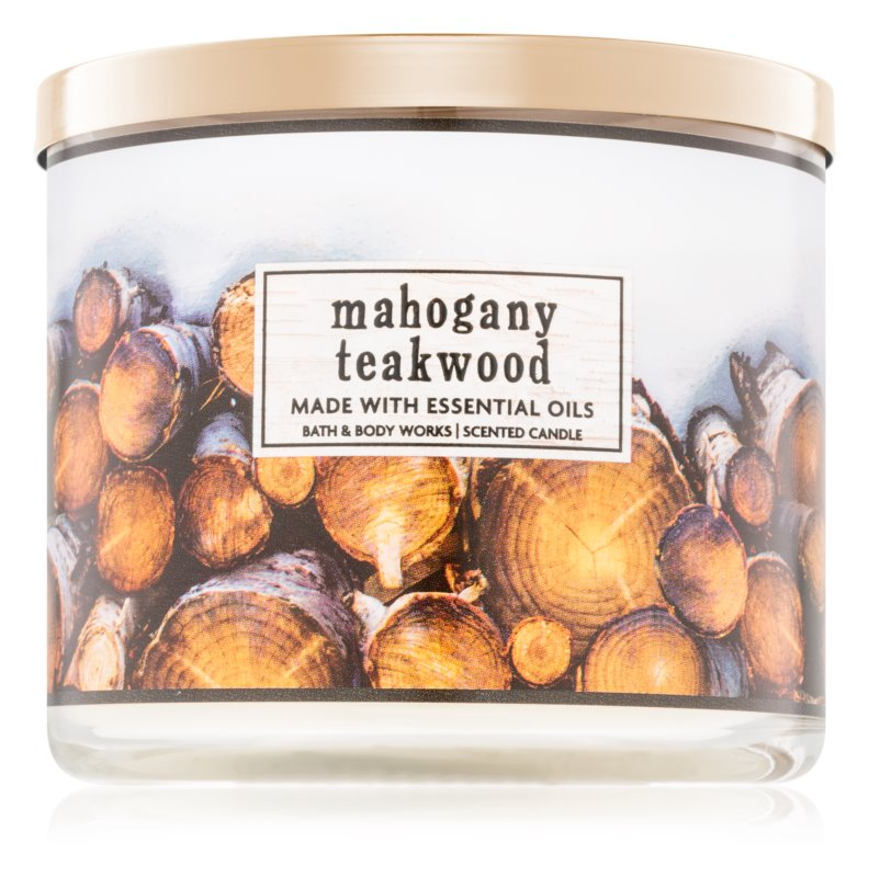 Bath & Body Works Mahogany Teakwood Scented Candle 411 g I.