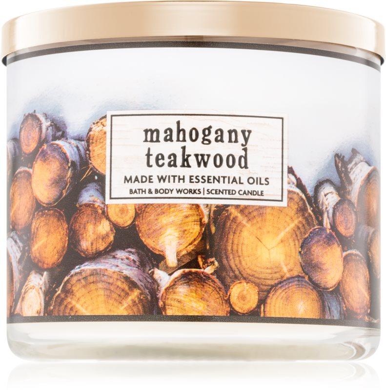Bath & Body Works Mahogany Teakwood vonná sviečka 411 g I.