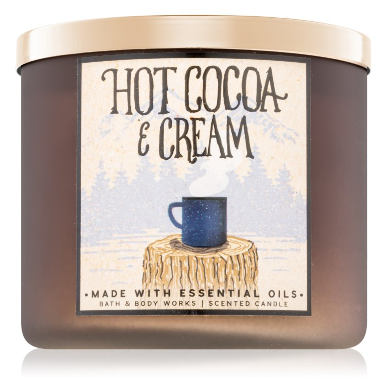 Bath & Body Works Hot Cocoa & Cream Scented Candle 411 g II.