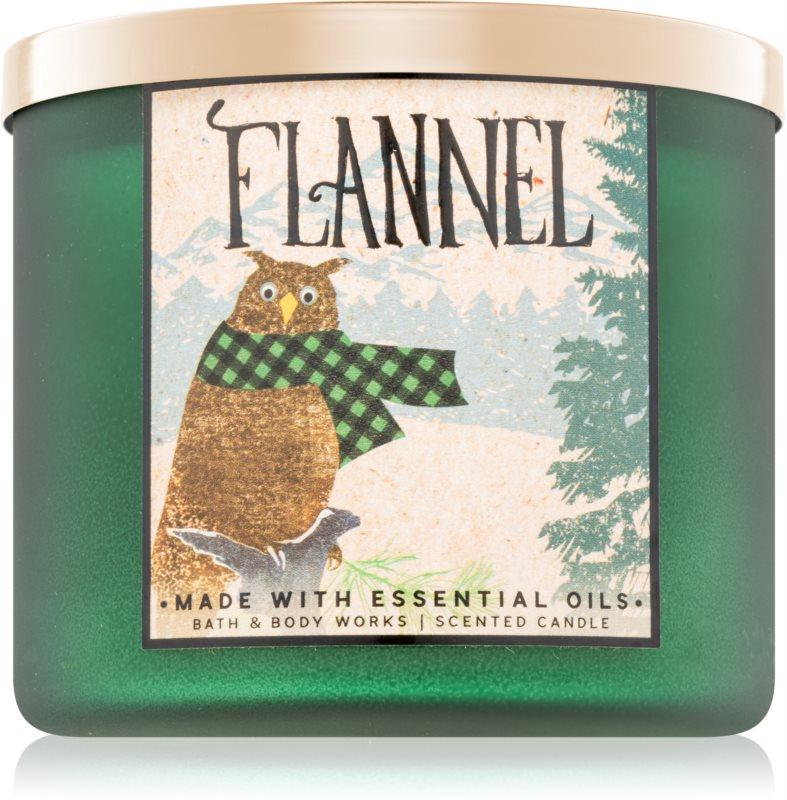 Bath & Body Works Flannel ароматизована свічка  411 гр II.