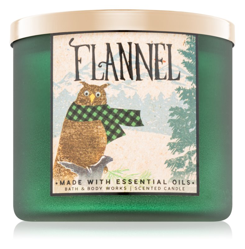 Bath & Body Works Flannel dišeča sveča  411 g II.