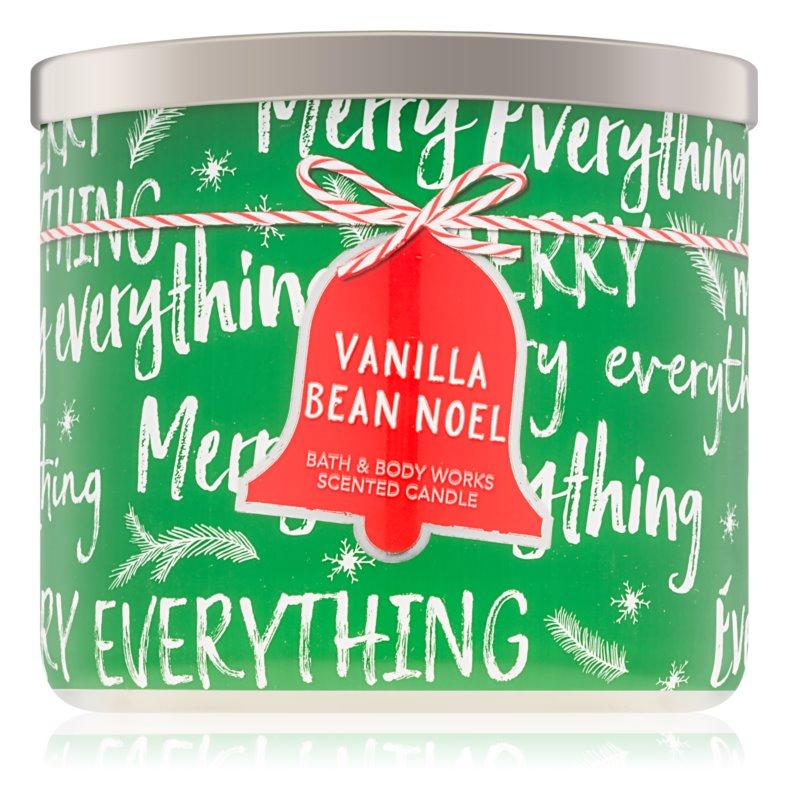 Bath & Body Works Vanilla Bean Noel Scented Candle 411 g I.