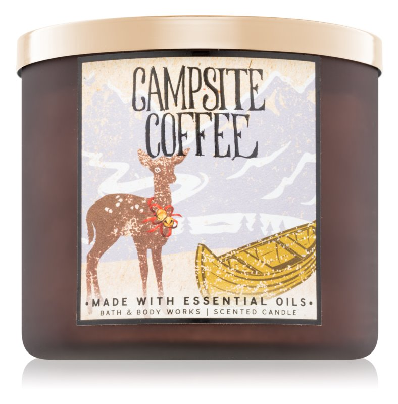 Bath & Body Works Campsite Coffee Scented Candle 411 g
