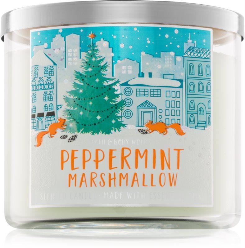 Bath & Body Works Peppermint Marshmallow Geurkaars 411 gr
