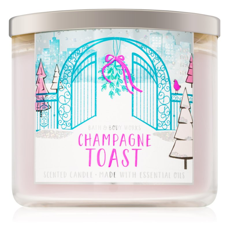 Bath & Body Works Champagne Toast, Scented Candle 411 g ...
