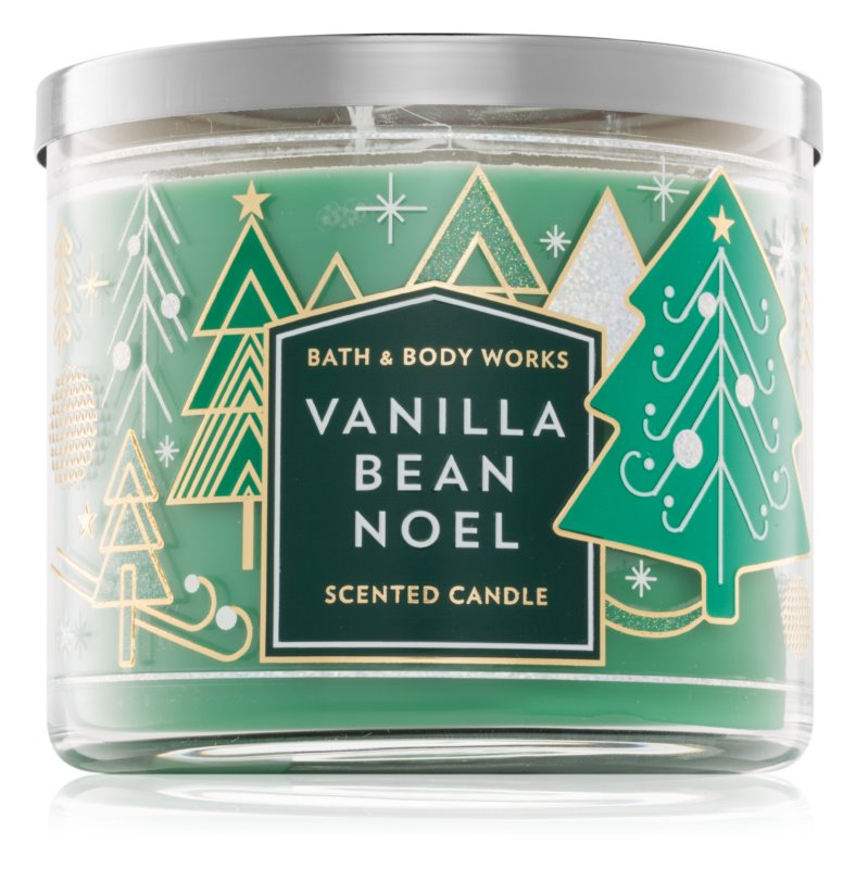 Bath & Body Works Vanilla Bean Noel vonná svíčka 411 g