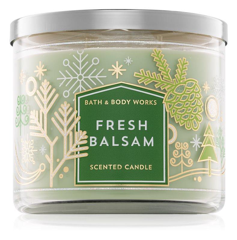 Bath & Body Works Fresh Balsam bougie parfumée 411 g III.